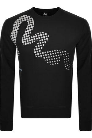Money Clothing Man Sweatshirts - Money Reflec Logo Crew Neck Sweatshirt