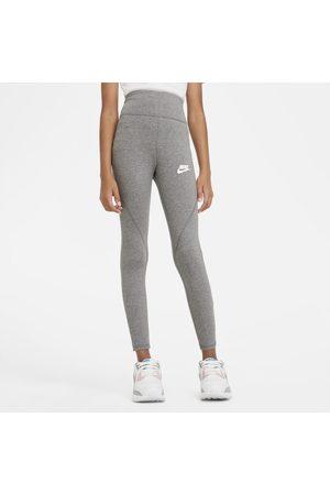 Nike Leggings med hög midja Sportswear Favorites för ungdom (tjejer)