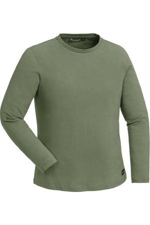 Pinewood Kvinna T-shirts - Women's Peached L/S T-shirt