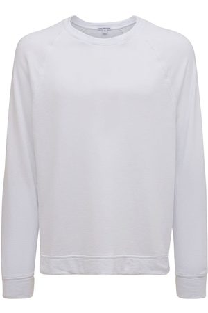 James Perse Vintage Cotton French Terry Sweatshirt
