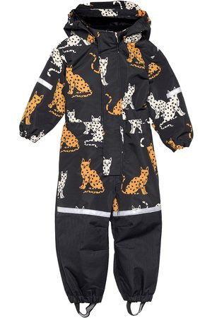 Lindex Barn Jackor - Overall Fix Aop Functional Outerwear Shell Clothing Shell Coveralls