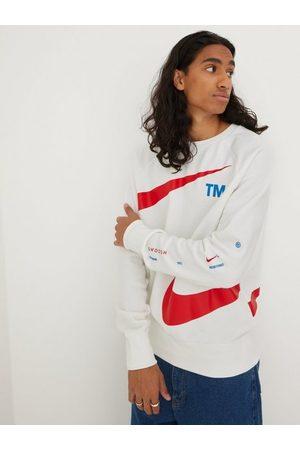 Nike M Nsw Swoosh Sbb Crew Tröjor White