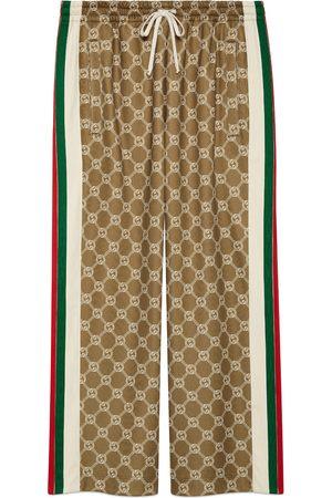 Gucci Interlocking G snap button jogging pant
