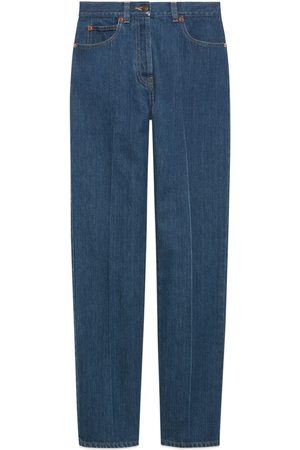 Gucci Kvinna Straight jeans - Straight leg denim pant