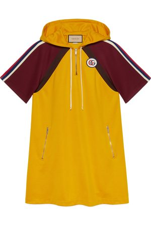 Gucci Technical jersey dress with Double G