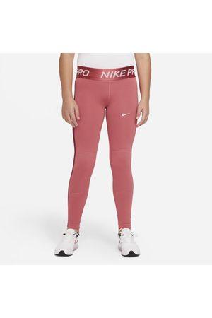 Nike Flicka Träningstights - Leggings Pro Warm Dri-FIT för ungdom (tjejer)