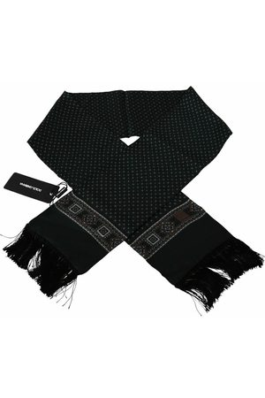 Dolce & Gabbana Baroque Tassel Silk Scarf