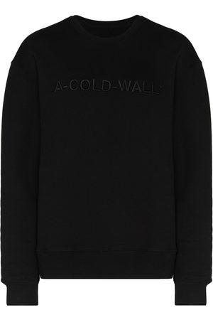 A-cold-wall* Tröja med broderad logotyp