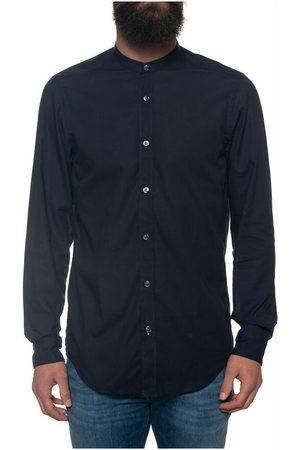HUGO BOSS Man Sjalar - Lamberto shirt with guru collar