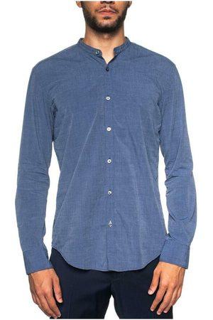 HUGO BOSS Man Sjalar - Rolfo shirt with guru collar