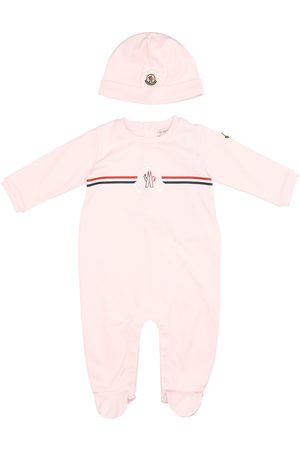 Moncler Onesie and Hat Suit