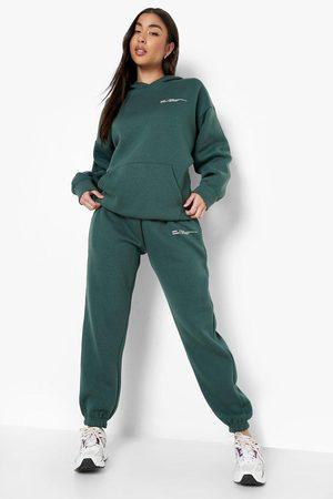 Boohoo Kvinna Pyjamas - Official Mysdress Med Hoodie
