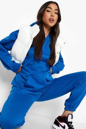 Boohoo Kvinna Pyjamas - Official Mysdress Med Hoodie, Blue