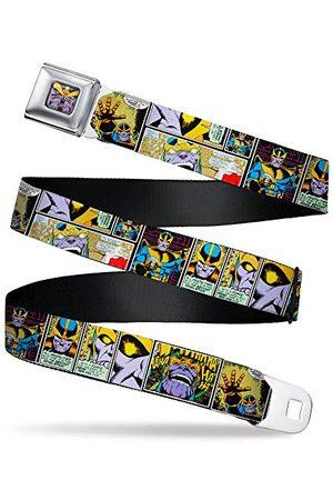 """Buckle Spänne ner herrbälte Thanos XL komisk scen block, 1,5"""" bred – 32-132 cm"""
