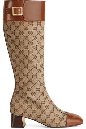 Gucci Kvinna Boots - Women's knee-high boot with crystals