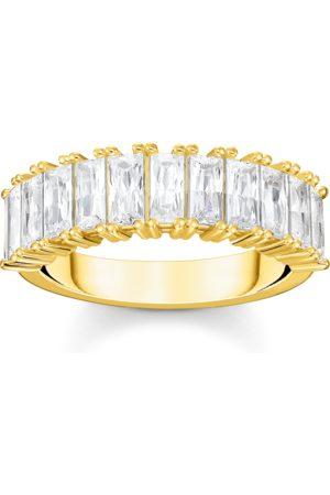 Thomas Sabo Kvinna Ringar - Ring stenar pavé guld