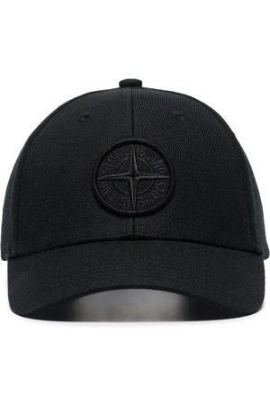 Stone Island Man Kepsar - Compass-logo cotton baseball cap
