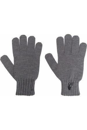 OFF-WHITE Man Handskar - Hand Off logo gloves