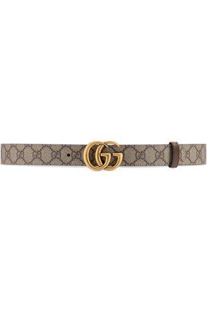Gucci Kvinna Bälten - GG Marmont reversible belt
