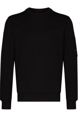 C.P. Company Logo-patch cotton sweatshirt