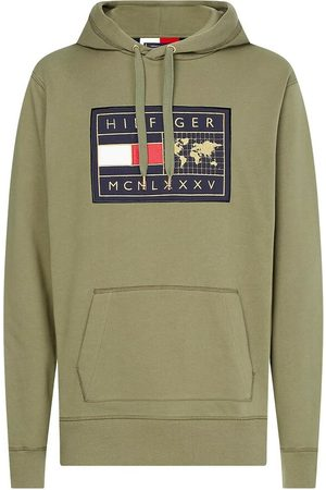 Tommy Hilfiger Icon Earth Badge Hoody Rocky Mountain