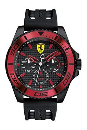 Scuderia Ferrari Man Klockor - Kvartsklocka för män, analog klassisk display och silikonrem 0830310