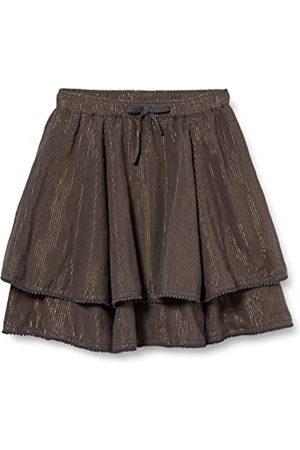 Noppies Flicka G Skirt Bawshar kjol, Ebenholts – P441, 134 cm