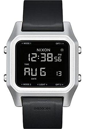 Nixon Analog kvarts klocka för män med silikonarmband A1309-625-00