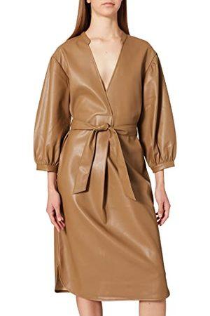Peppercorn Jamilla Casual Dress för kvinnor, Sepia nyans, M