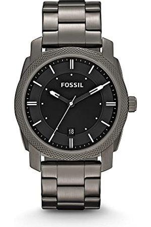 Fossil Herrar analog kvarts klocka med rostfritt stål armband FS4774