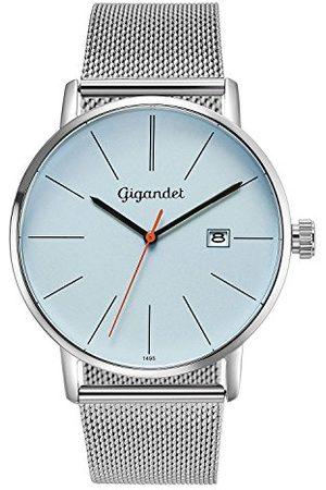 Gigandet Analog kvarts klocka för män med rostfritt stål armband G42-013