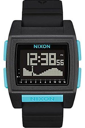 Nixon Digital kvarts klocka för män med silikonarmband A1307-602-00