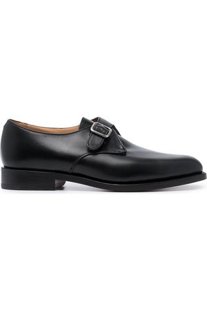 Tricker's Leather buckle loafers
