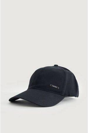 Calvin Klein Man Kepsar - Keps Slim Metal Plaque BB Cap Svart