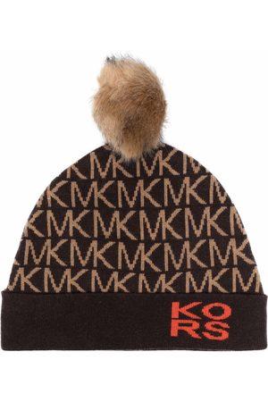 Michael Michael Kors Stickad mössa med monogram