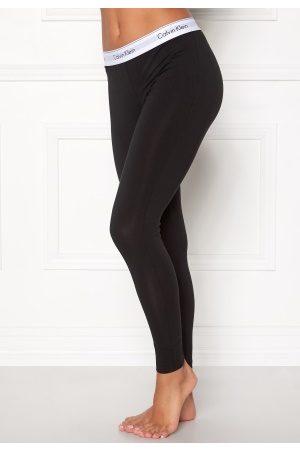 Calvin Klein Kvinna Leggings & Treggings - Legging Pant 0001 Black S