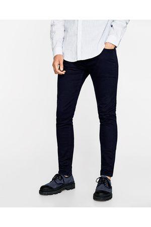 Man Slim & Skinny byxor - Zara DENIMBYXA SLIM FIT - Finns i fler färger