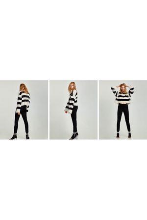Zara LEGGINGS MED MOCKAEFFEKT