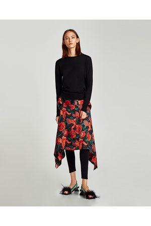 Zara RIBBADE LEGGINGS