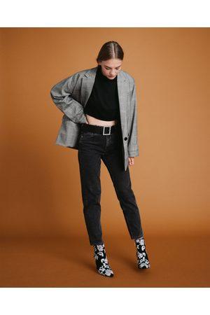 Zara MOM FIT-JEANS MED HÖG MIDJA - Finns i fler färger