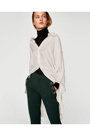 Zara CHINOS MED APPLIKATION