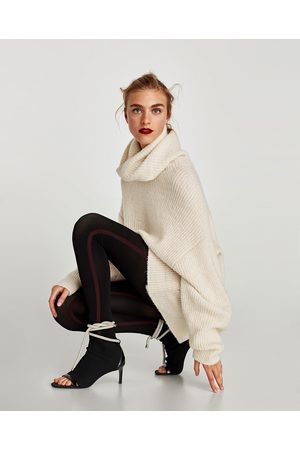 Zara LEGGINGS OCH STRUMPBYXA MED RAND I SIDAN - Finns i fler färger