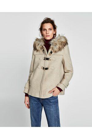 Zara fuskpals jacka med luva