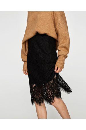 Zara matcha kvinna pennkjolar, jämför priser och köp online