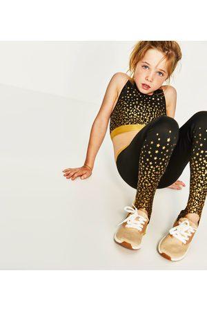 Zara Kvinna Leggings & Treggings - LEGGINGS MED STJÄRNOR OCH FOTHÄLLOR