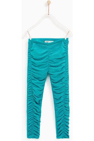 Zara LEGGINGS MED GLANS - Finns i fler färger