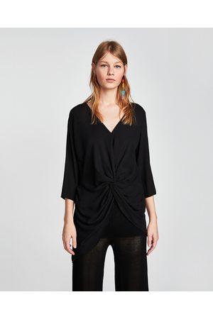 Zara priser kvinna blusar   tunikor 05f7502e24973