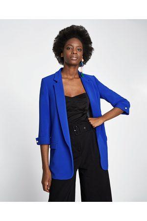 Zara LÅNG KAVAJ - Finns i fler färger